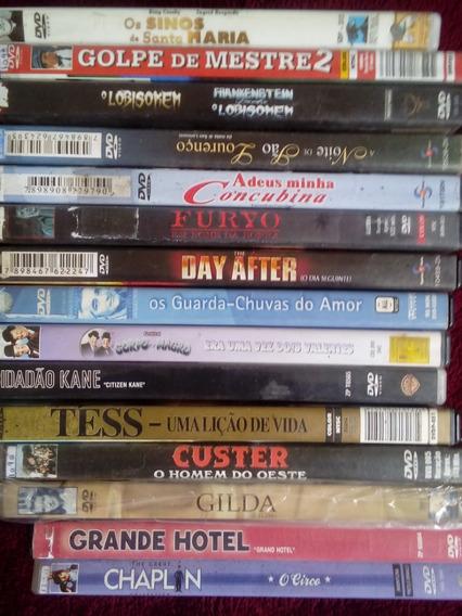 Lote 15 Dvds Filmes Classicos E Raros Original\