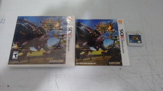 Monster Hunter 4 Ultimate Completo Para Nintendo 3ds