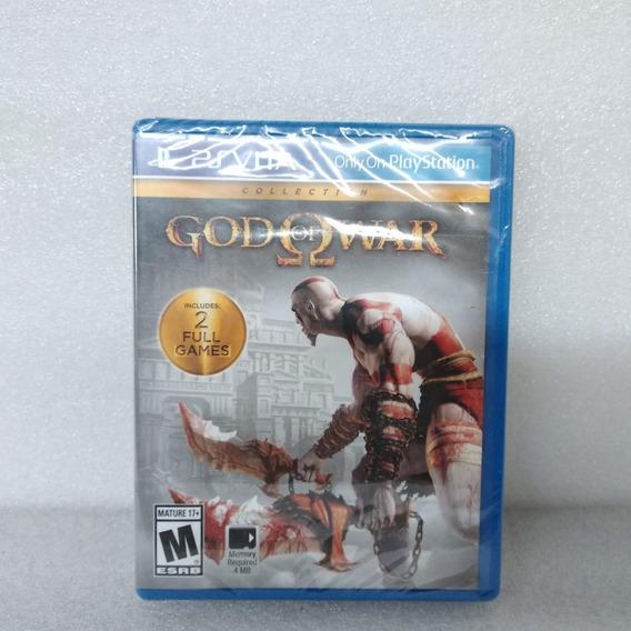 Jogos Ps Vita God Of War Collection Original Lacrado Fisica