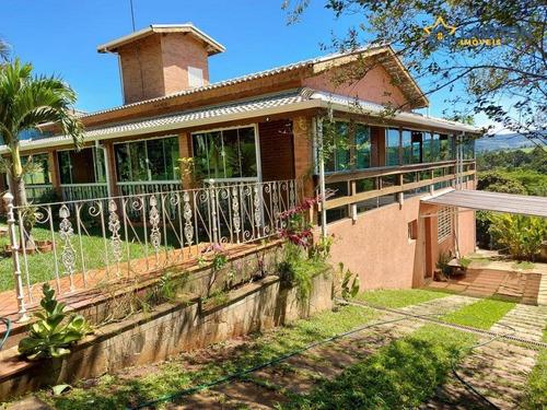 Chácara À Venda, 1000 M² Por R$ 480.000,00 - Rio Abaixo - Atibaia/sp - Ch1438