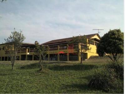 Linda Chácara 5000 M² Com Casa Avarandada, Piscinas, Galpões, Próximo A Mogi-bertioga Em Mogi Das Cruzes - Sp - Ch0007