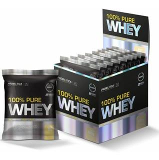 100% Pure Whey - 15 Sachês 32g Baunilha - Probiótica