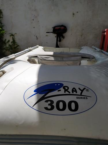 Gomon Z-ray 300 Con Motor Mercury 2.5 Hp