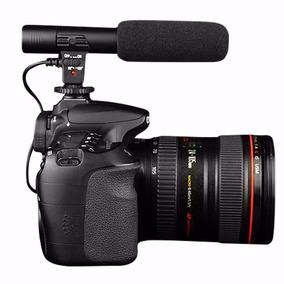 Microfone Profissional Direcional P/ Cameras Dslr Filmadora