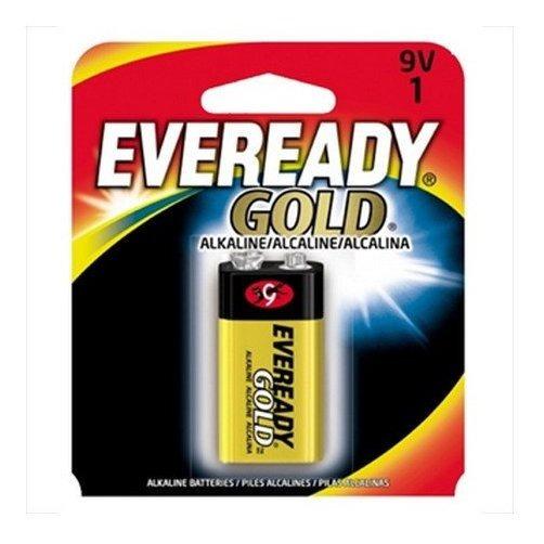 Kit C/ 4 Bateria Eveready Alcalina 9v