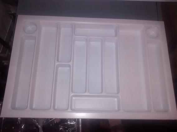 Cubiertero Organizador Plástico Gris Para Cajón 720 X 480
