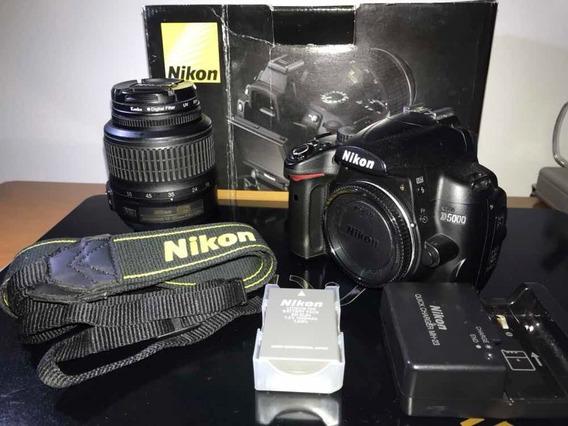 Nikon D5000 Pouco Uso!!!