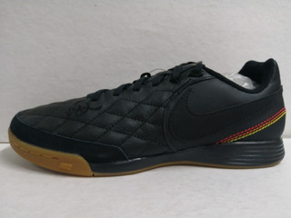 Zapatillas fútbol sala Nike LegendX7 club negrorojo junior