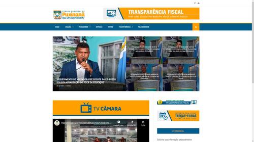 Imagem 1 de 3 de Criação De Portal De Notícias Responsivo