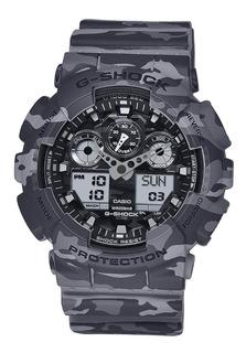 Reloj Deportivo Casio G-shock Ga100cm-8a Nuevo Camuflado