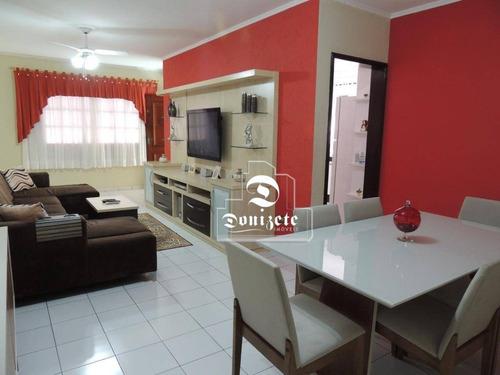 Casa Com 2 Dormitórios À Venda, 257 M² Por R$ 849.000,00 - Vila Cecília Maria - Santo André/sp - Ca0973