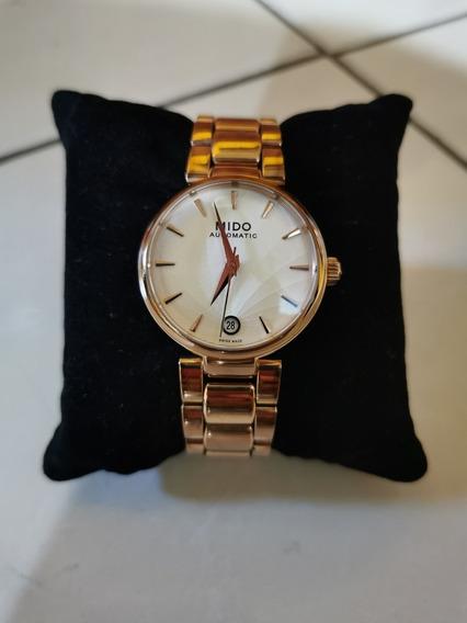 Hermoso Reloj Mido BaroncelliPará Dama Automático