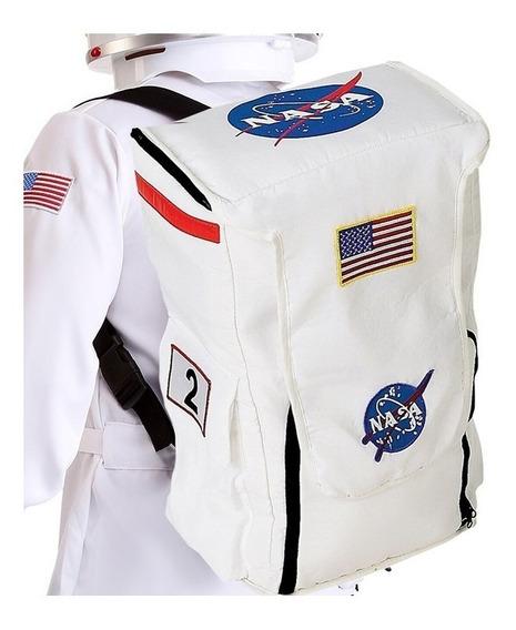 Aeromax Jr. Mochila De Astronauta Con Parches De La Nasa