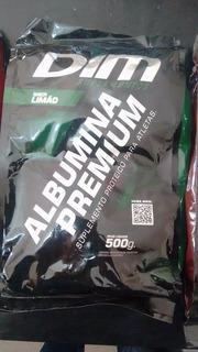 Albumina Dim - Proteína Clara Do Ovo - Limão - 500g