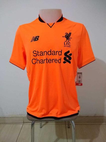 Camisa Liverpool 125 Anos New Balance Third 2017/18 Original