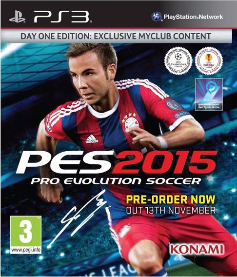 Pes 2015 - Pro Evolution Soccer - Ps3 - Psn - Promoção