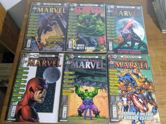 Coleçãocompleta Heróis Marvel Premium17 Edições Frete Grátis