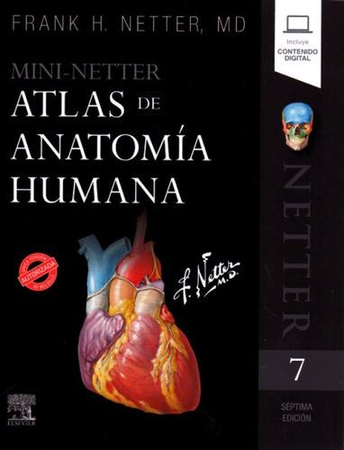 Imagen 1 de 1 de Mini-netter Atlas De Anatomía Humana 7ed. Libro Nuevo