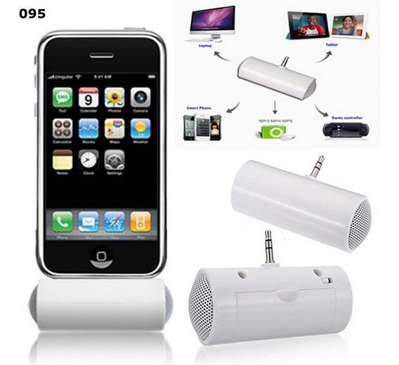Mini Caixa De Som Speaker Audio Dock Portatil Tablet Celular