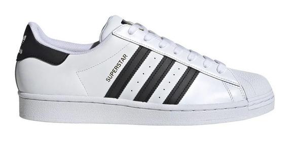 Zapatillas adidas Superstar Moda Blanca/negra