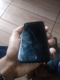 Celular iPhone 7 Preto Fosco