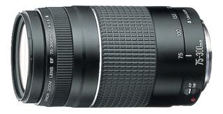 Canon Teleobjetivo Ef 75-300mm 1: 4-5.6 Iii Para Cámara