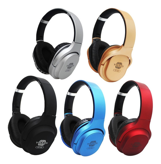 Headphone Bluetooth Stereo St-50 Extra Bass Sd Fm P2
