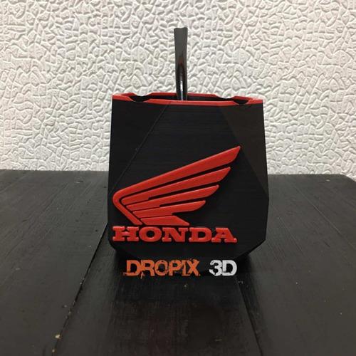 Mate 3d Marca Honda- Dropix3d Mar Del Plata