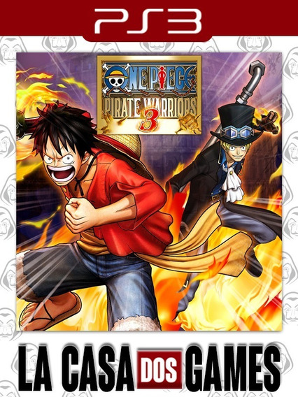 One Piece: Pirate Warriors 3 - Psn Ps3 - Envio Imediato