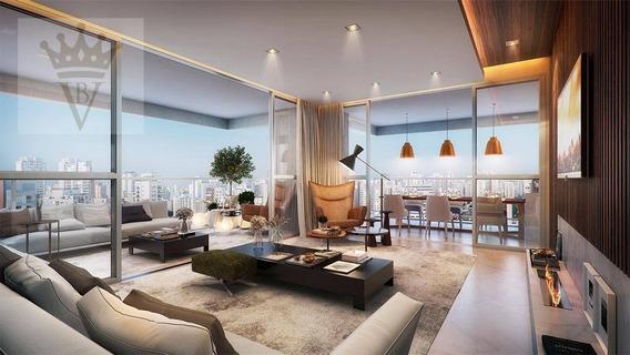 Apartamento Com 3 Dormitórios À Venda, 153 M² Por R$ 3.697.000 - Vila Olímpia - São Paulo/sp - Ap2632