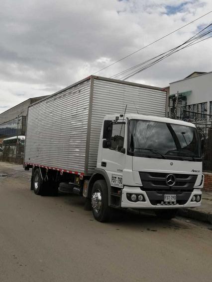 Camion Sencillo Con Cupo Capacidad De Carga 10t Pbv 17t