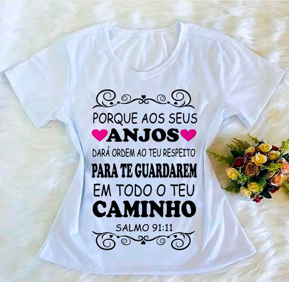 Kit C 10 Blusas Camiseta T-shirt Tshirts Evangelicas