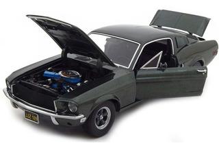 Miniatura Mustang Gt Bullitt 1968 - Steve Mcqueen