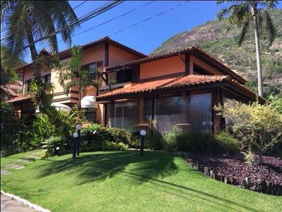 Casa Em Itacoatiara, Niterói/rj De 460m² 4 Quartos À Venda Por R$ 2.200.000,00 - Ca216752