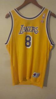 Jerseys Kobe Bryant Rookie Champion Amarilla Y Purpura