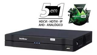 Dvr Intelbras 16 Canais Mhdx 1116 Multi Hd G4 Lançamento / Monitoramento Residencial