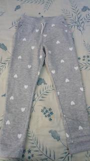 Pants Niña Color Gris Talla 9 Marca H&m