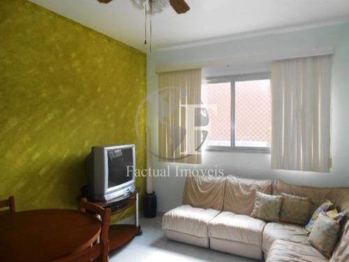 Apartamento Com 1 Dormitório À Venda, 50 M² - Enseada - Guarujá/sp - Ap9785