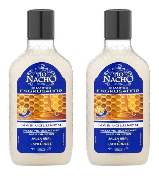 Tío Nacho Shampoo Engrosador Shampoo X 200ml X 2uds