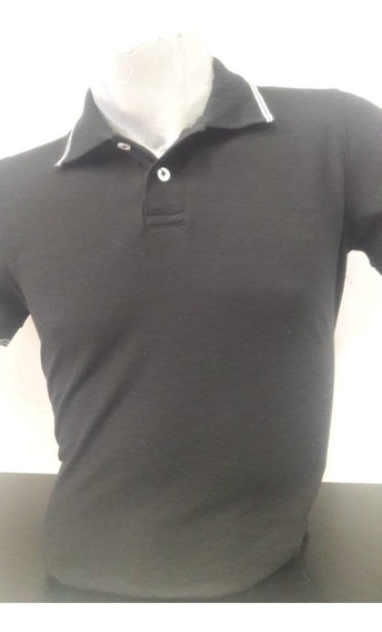 Playera Gris Oxford Tipo Polo