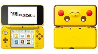 New Nintendo 2ds Xl Pikachu Yellow Edition