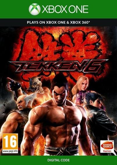 Tekken 6 Xbox 360 Codigo 25 Digitos - Digital - Xbox One -