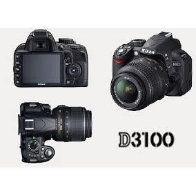 Camera Nikon D3100 + Lente 55 Mm