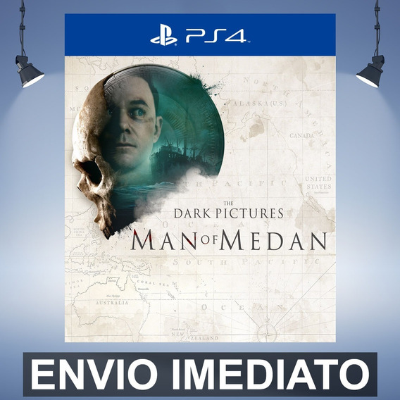 The Dark Pictures Anthology Man Of Medan Ps4 Código