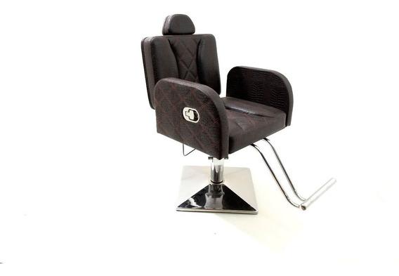 Poltrona Cadeira Reclinável Henri Móveis Salão E Maquiagem