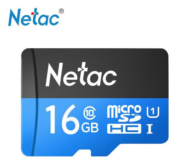 Netac P500 Classe 10 16 Gb Micro Tf Cart?o De Memória Flash