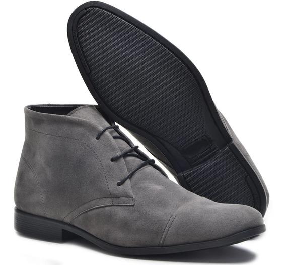 Sapato Camurça Masculino Oxford Esporte Fino