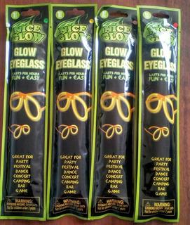 Gafas Luminosas Hora Loca Neon Glow Fiesta Neon