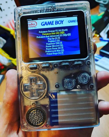 Game Boy Odroid-go Game Boy Arduino Montado Com 2500+ Games