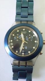 Relógio Swatch Ag 2006 Cronos-(37a)